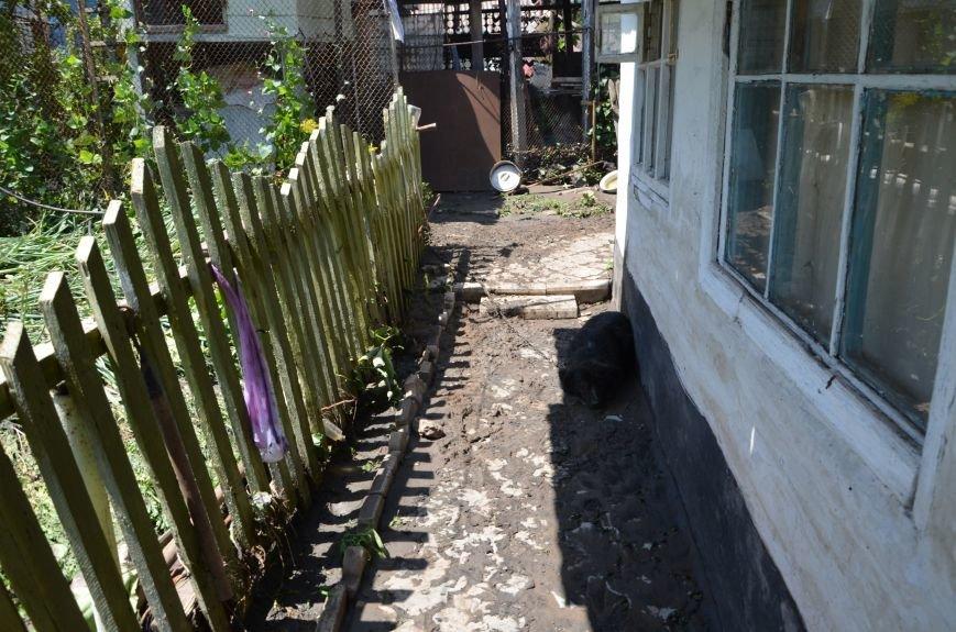 В Мариуполе фекалии ломали заборы, уничтожали огороды и затопили несколько частных домов (ФОТО+ВИДЕО), фото-21