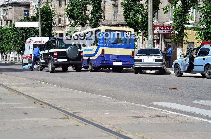 В Каменском на проспекте Свободы в ДТП маршрутка насмерть сбила женщину на пешеходном переходе, фото-4