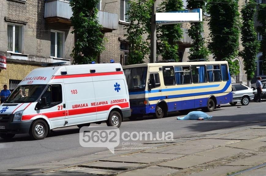 В Каменском на проспекте Свободы в ДТП маршрутка насмерть сбила женщину на пешеходном переходе, фото-3