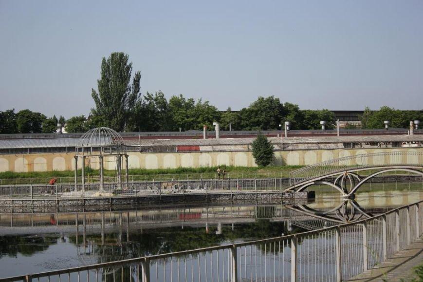 Строители в очередной раз планируют почистить озеро и установить скамейки в Городском саду до конца года (ФОТО), фото-2