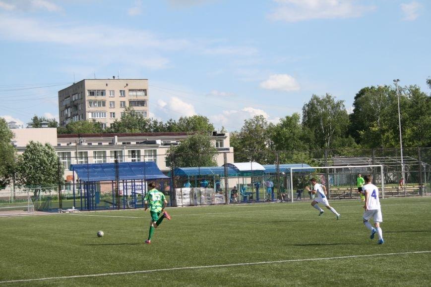 Троицкие футболисты сыграли с «Крыльями Советов-2», фото-8