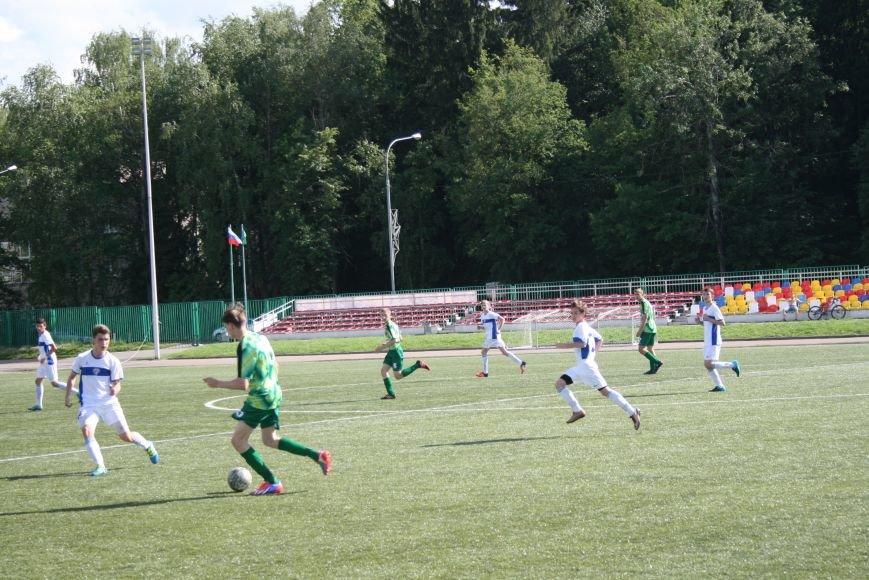 Троицкие футболисты сыграли с «Крыльями Советов-2», фото-6