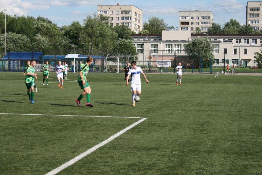 Троицкие футболисты сыграли с «Крыльями Советов-2», фото-3