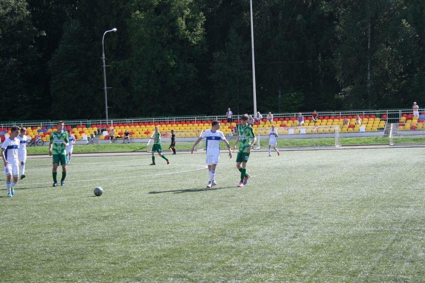 Троицкие футболисты сыграли с «Крыльями Советов-2», фото-7