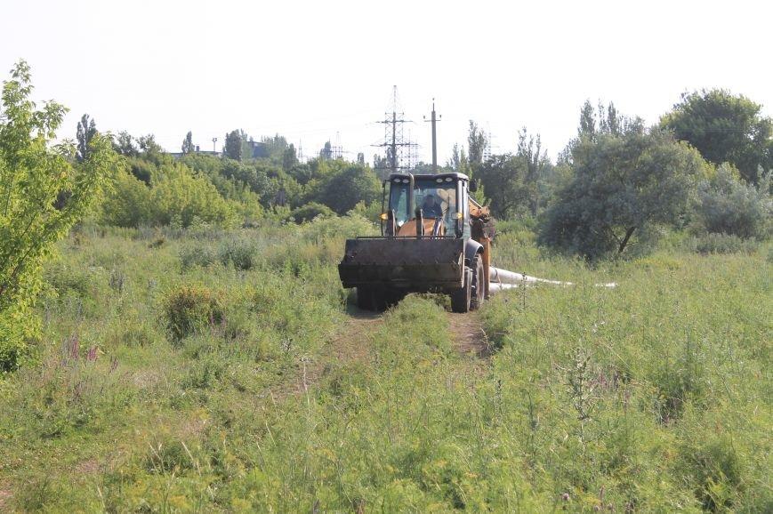 На водоводе «АФС – резервуар «Восточный» идут работы (ФОТОФАКТ), фото-3