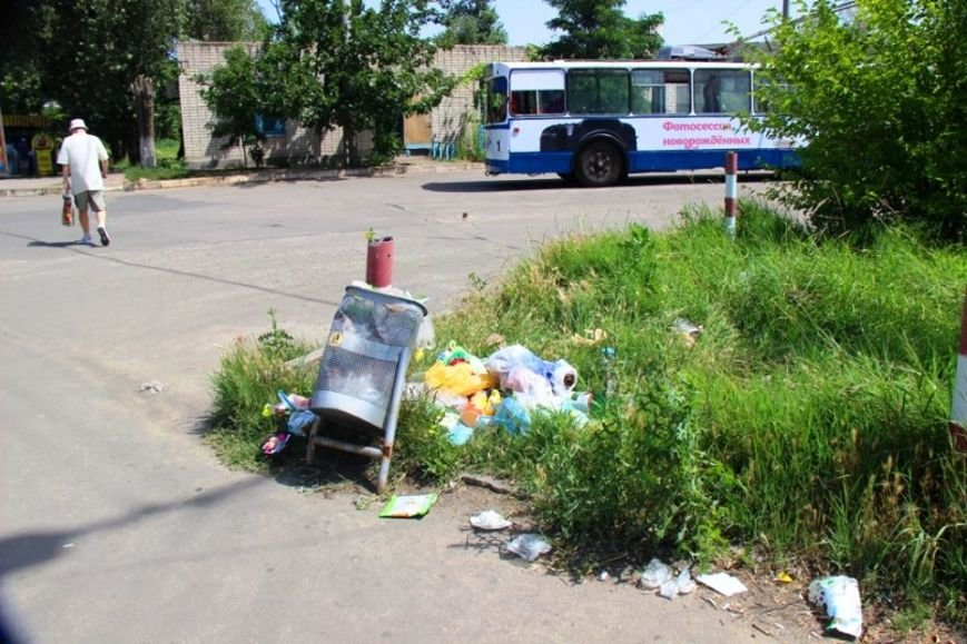 Отдыху херсонцев мешает мусор (фото), фото-7