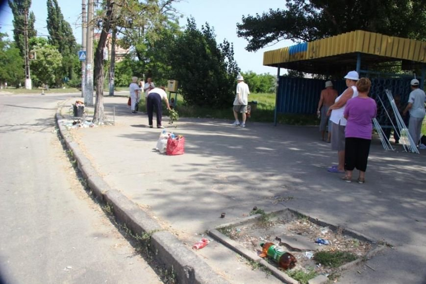 Отдыху херсонцев мешает мусор (фото), фото-8