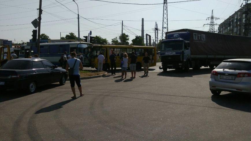 В Мариуполе столкнулись автобус, фура и маршрутка. Пострадало 16 человек (ДОПОЛНЕНО+ФОТО), фото-7