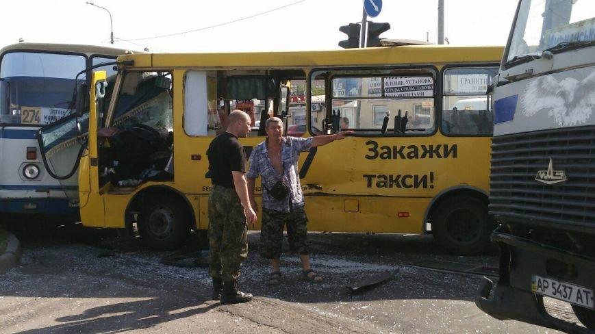 В Мариуполе столкнулись автобус, фура и маршрутка. Пострадало 16 человек (ДОПОЛНЕНО+ФОТО), фото-9