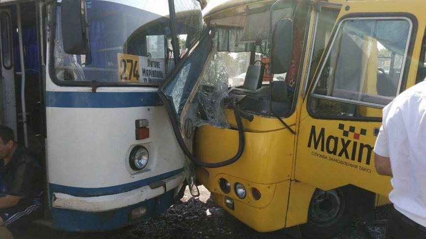 В Мариуполе столкнулись автобус, фура и маршрутка. Пострадало 16 человек (ДОПОЛНЕНО+ФОТО), фото-4