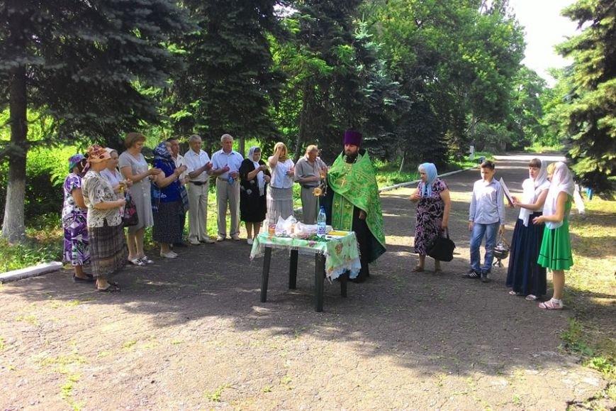 В поселке Водянское совершена панихида, фото-1