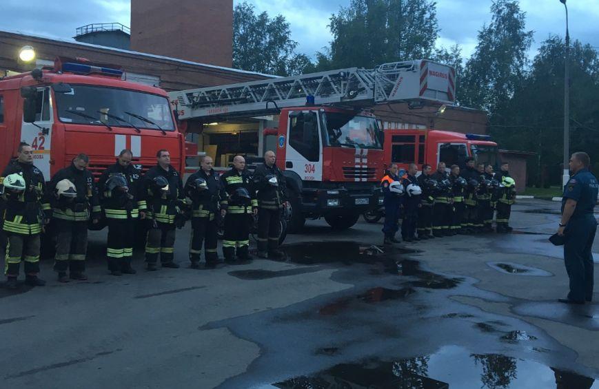 В пожарно-спасательных частях Новой Москвы прошла Вахта Памяти, фото-1