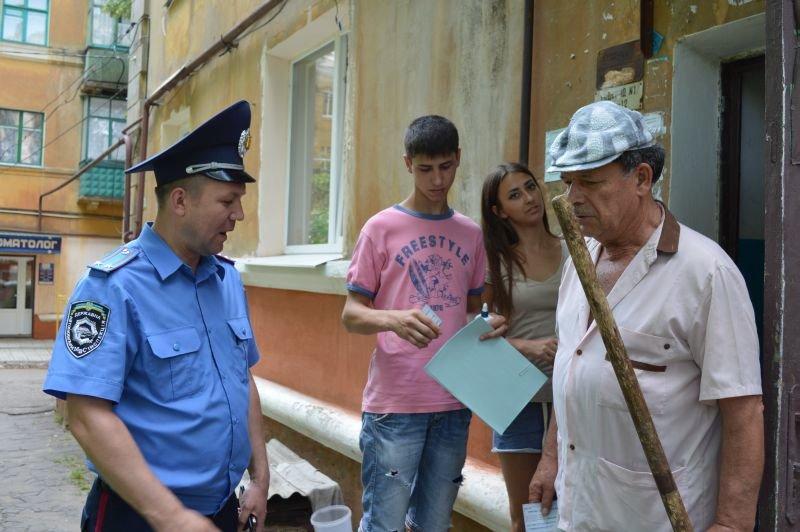 Жителей Краматорска познакомили с участковыми, фото-2