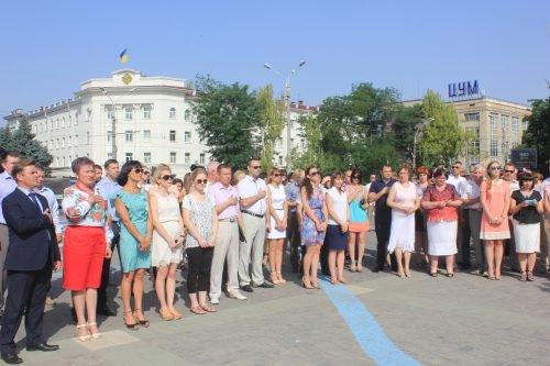 В Херсоне требовали освободить незаконно осужденных в России (фото), фото-2