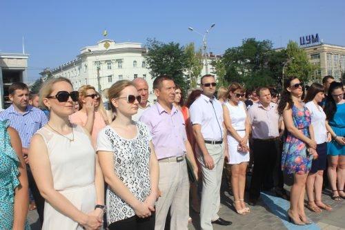 В Херсоне требовали освободить незаконно осужденных в России (фото), фото-1
