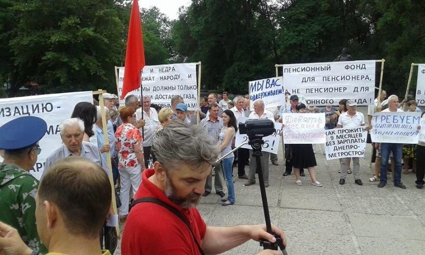протест профсоюзов