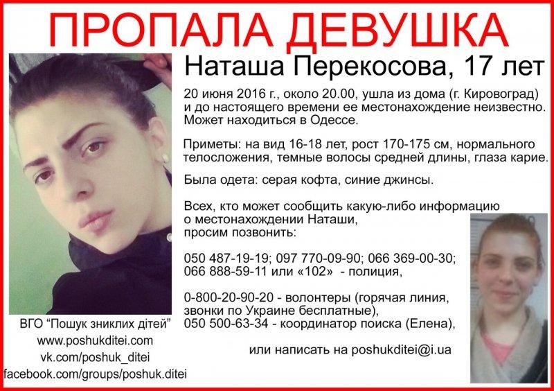Жителей Черноморска просят помочь в поиске 17-летней девушки, фото-1