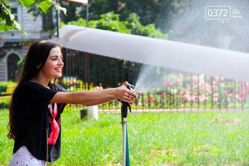 Як рятуються сьогодні чернівчани від спеки?(ФОТО), фото-8