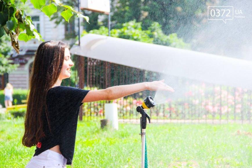 Як рятуються сьогодні чернівчани від спеки?(ФОТО), фото-5
