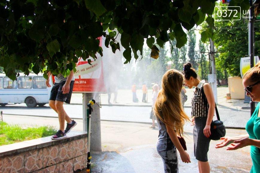 Як рятуються сьогодні чернівчани від спеки?(ФОТО), фото-13