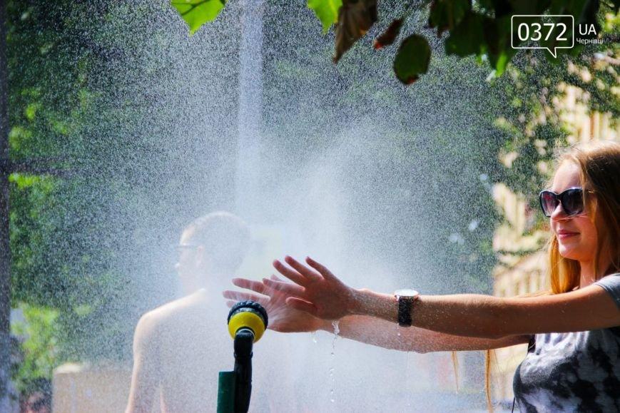 Як рятуються сьогодні чернівчани від спеки?(ФОТО), фото-9