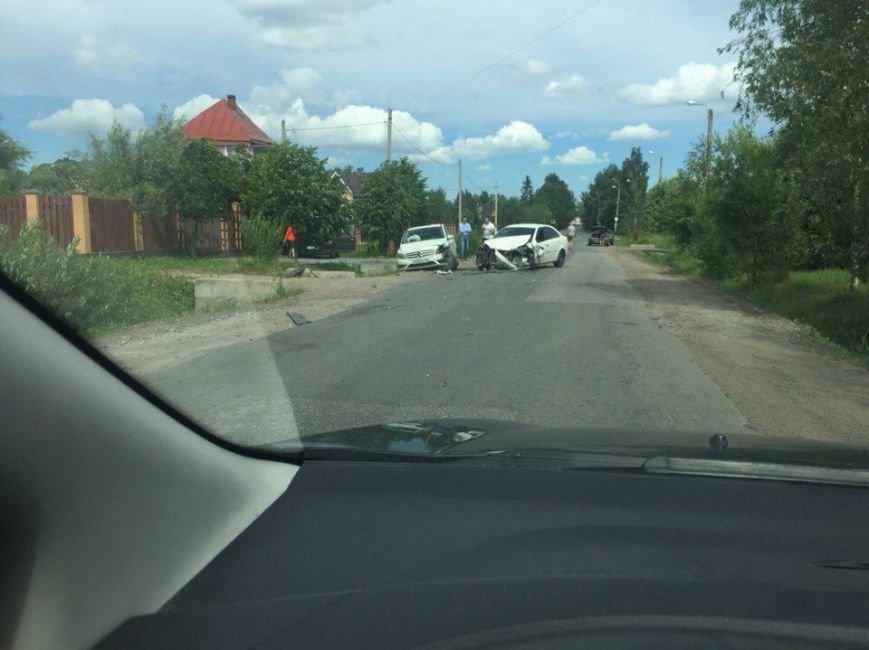 Авария в поселке Александровская2