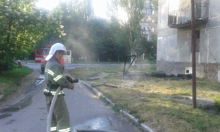 Авдеевские пожарные оперативно справились с работой (ФОТО), фото-5