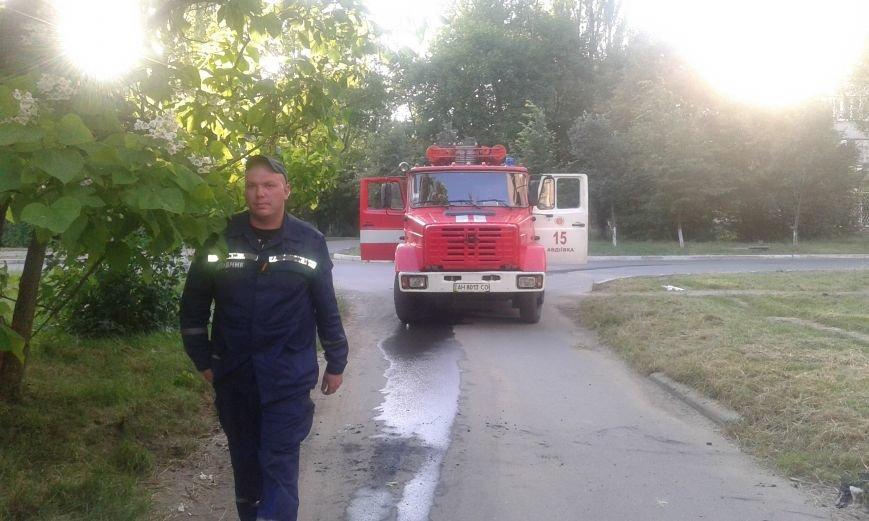 Авдеевские пожарные оперативно справились с работой (ФОТО), фото-6