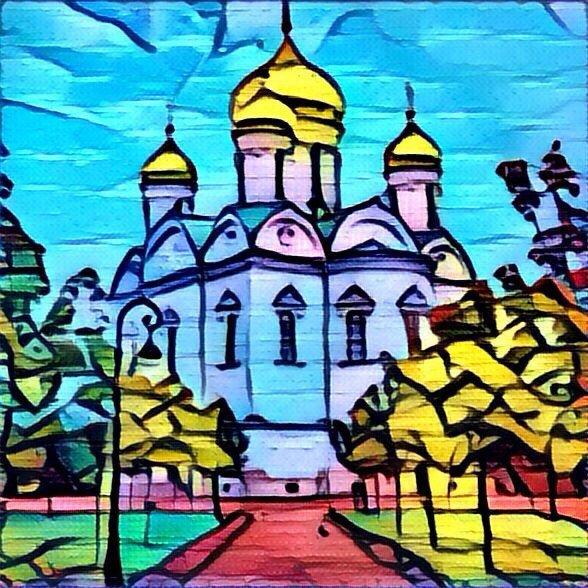 Город Пушкин через Призму6