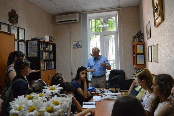 Молодые лидеры Черноморска встречались с журналистами (+фото), фото-1