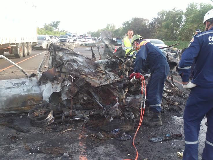 Появилось видео страшной аварии на М-4 «Дон», где погибли три человека, фото-1