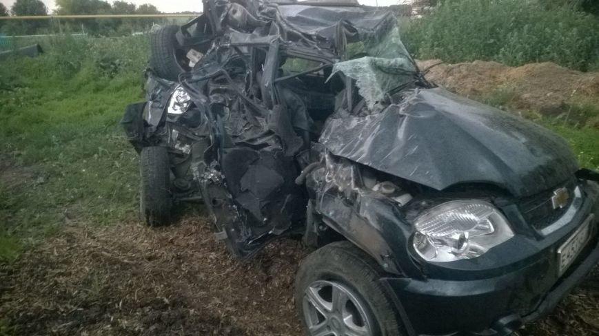 В страшной аварии под Ульяновском погиб водитель, фото-1