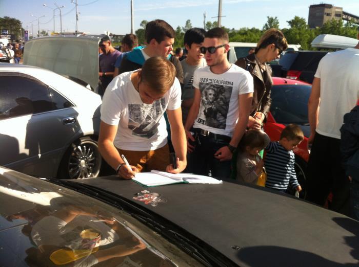 Автотюнинг - не преступление, джиперы Сахалина протестуют против техрегламента, фото-7