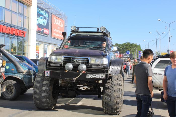 Автотюнинг - не преступление, джиперы Сахалина протестуют против техрегламента, фото-4