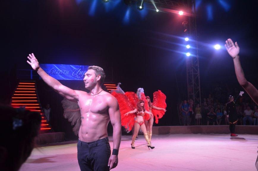Тысячи мариупольцев увидели ангелов цирка, белого льва, тигра и трюки на высоте (ФОТО+ВИДЕО), фото-20