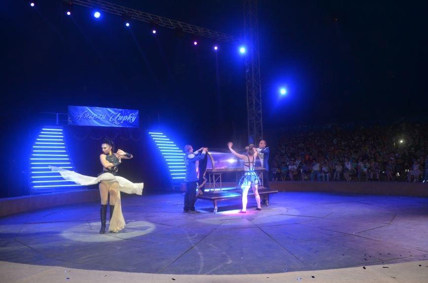 Тысячи мариупольцев увидели ангелов цирка, белого льва, тигра и трюки на высоте (ФОТО+ВИДЕО), фото-52
