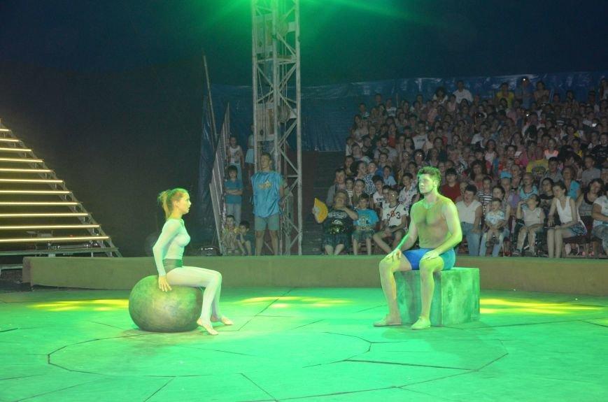 Тысячи мариупольцев увидели ангелов цирка, белого льва, тигра и трюки на высоте (ФОТО+ВИДЕО), фото-9