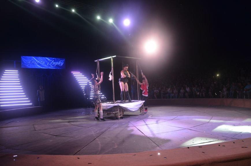 Тысячи мариупольцев увидели ангелов цирка, белого льва, тигра и трюки на высоте (ФОТО+ВИДЕО), фото-51