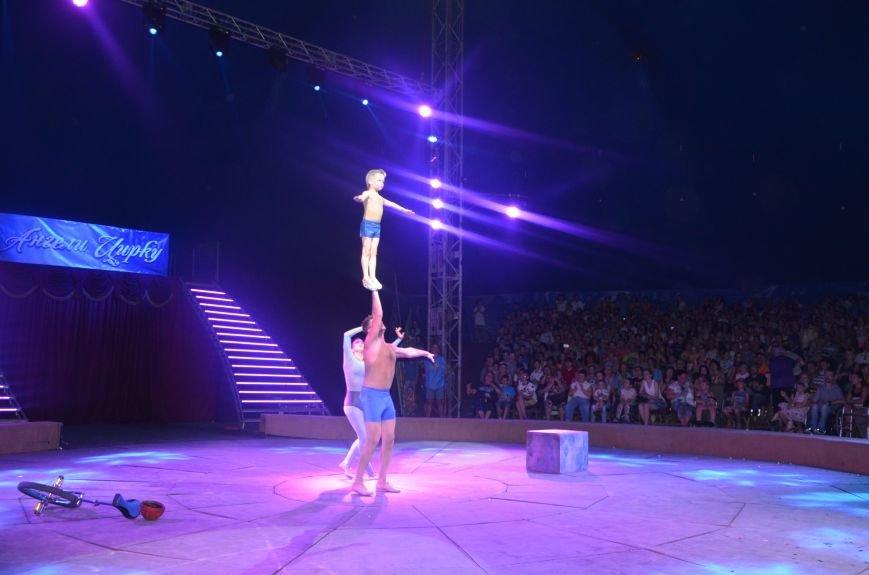 Тысячи мариупольцев увидели ангелов цирка, белого льва, тигра и трюки на высоте (ФОТО+ВИДЕО), фото-10