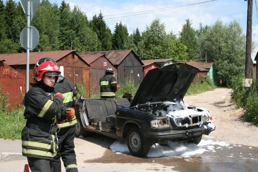 В Троицке прошло пожарно-тактическое учение на ДТП с бензовозом, фото-7