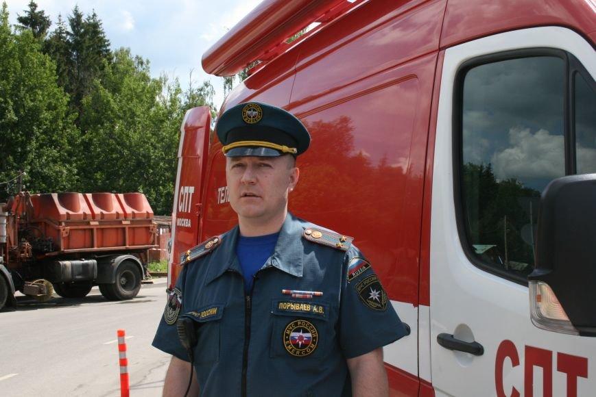 В Троицке прошло пожарно-тактическое учение на ДТП с бензовозом, фото-1