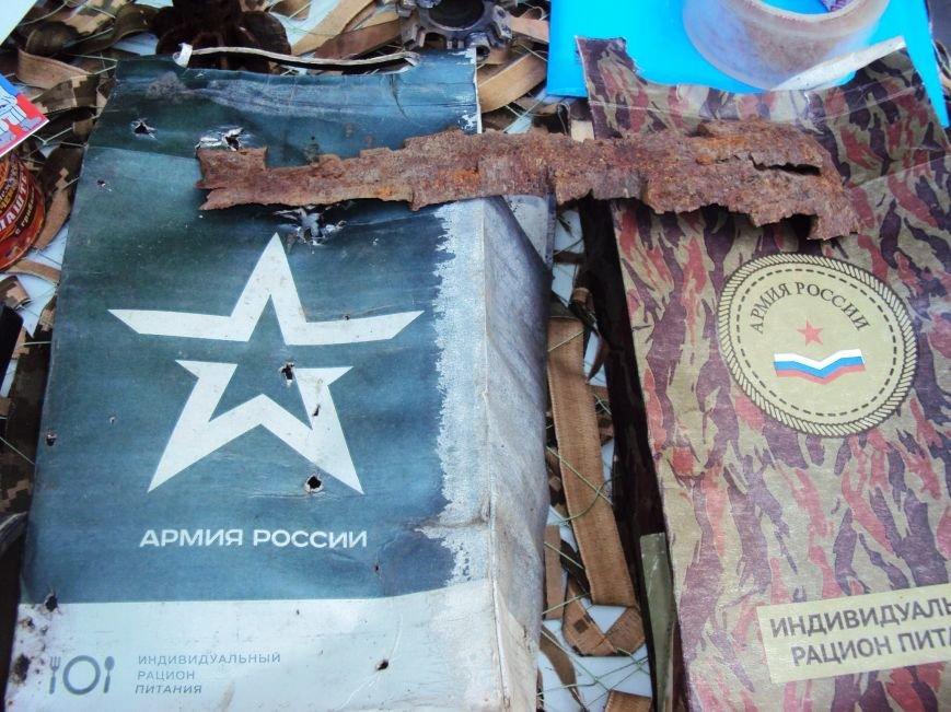 В Херсоне волонтеры представили выставку с фотографиями из Широкино и доказательствами российской агрессии (фото), фото-2