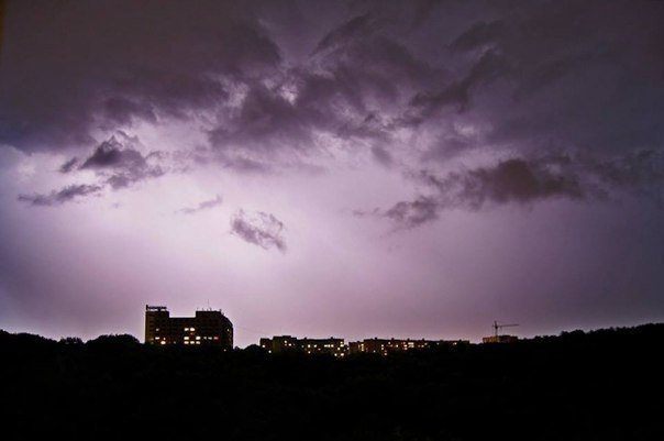Нічна гроза у Чернівцях(ФОТО), фото-11