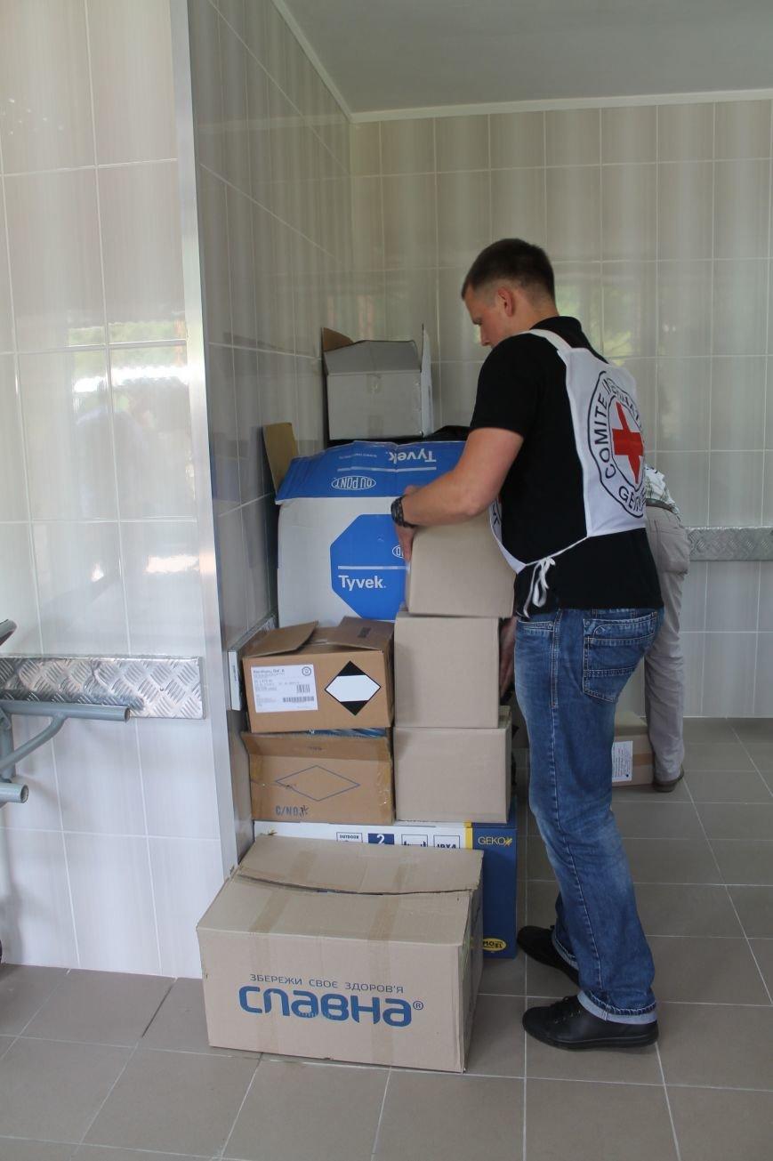 В Бахмуте при поддержке Красного Креста реконструировали морг, фото-6