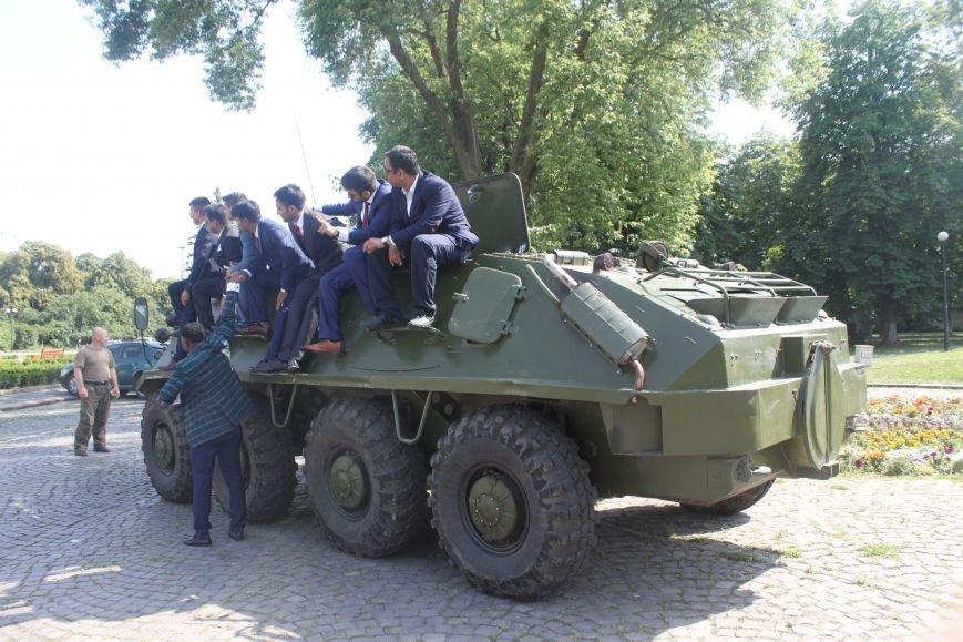 """В Ужгороді стартував """"Military ride"""": фото, фото-9"""
