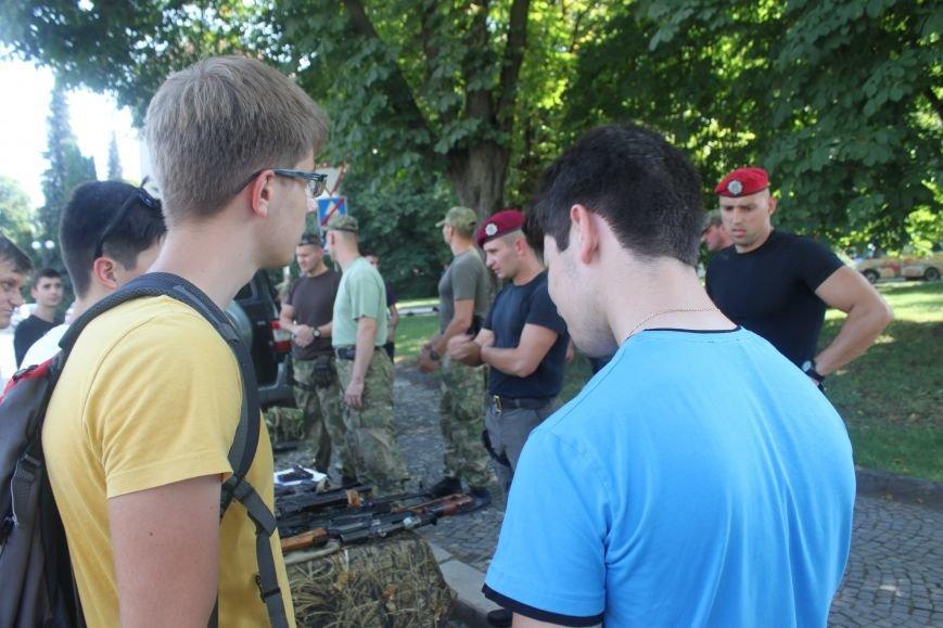 """В Ужгороді стартував """"Military ride"""": фото, фото-1"""