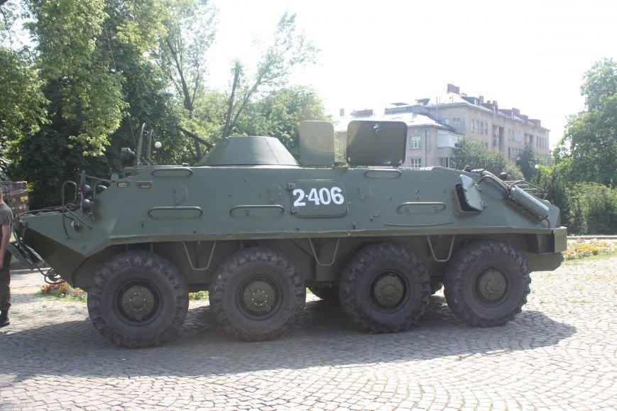 """В Ужгороді стартував """"Military ride"""": фото, фото-6"""