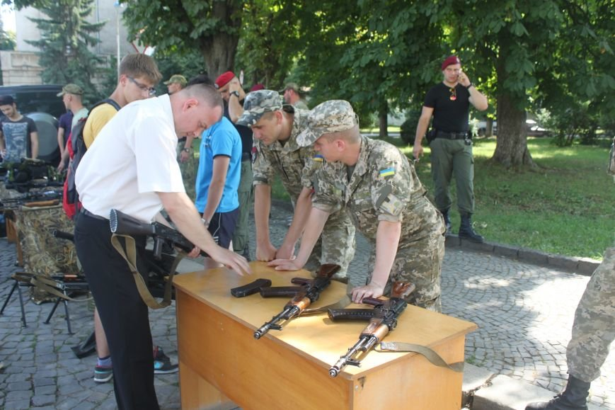 """В Ужгороді стартував """"Military ride"""": фото, фото-2"""