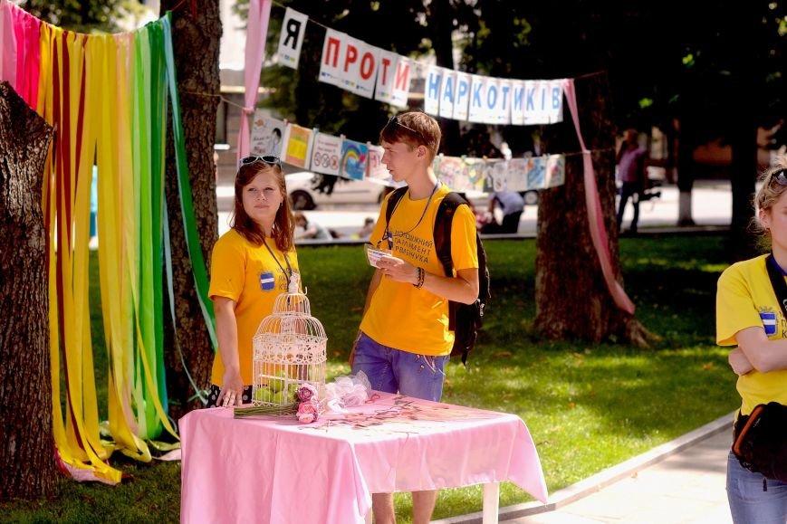 Кременчугская молодёжь объясняла кременчужанам, почему нельзя употреблять наркотики (ФОТО), фото-5