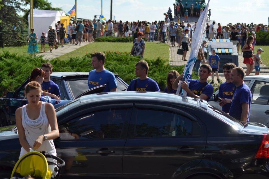 Накануне Дня молодежи в Каменском открыли фонтан и левобережный пляж, провели концерт и патриотический квест, фото-13